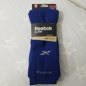 Reebok All Sport Size M Socks Blue Womens Youth